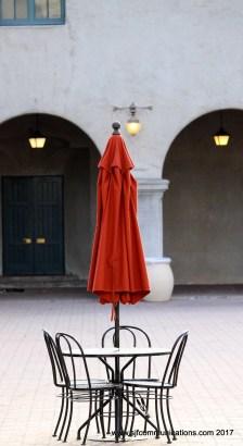 Orange Umbrella, Architecture at Balboa Park, Photos by SJF Communications