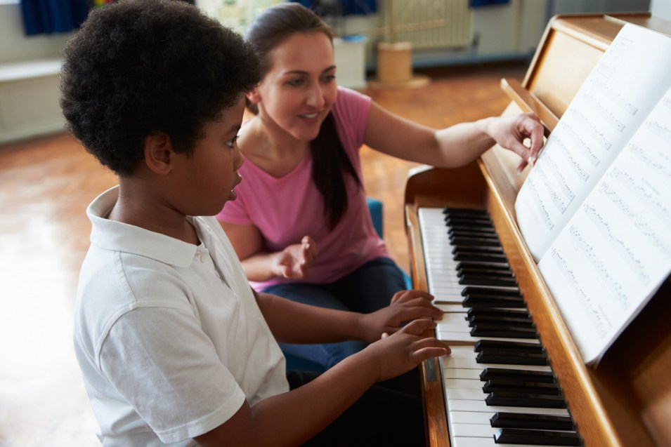 private music lessons at SJG School of Music in Campbell