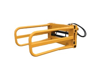 SJH Machinerys range of tractor loader bale grabs and bale handling equipment.