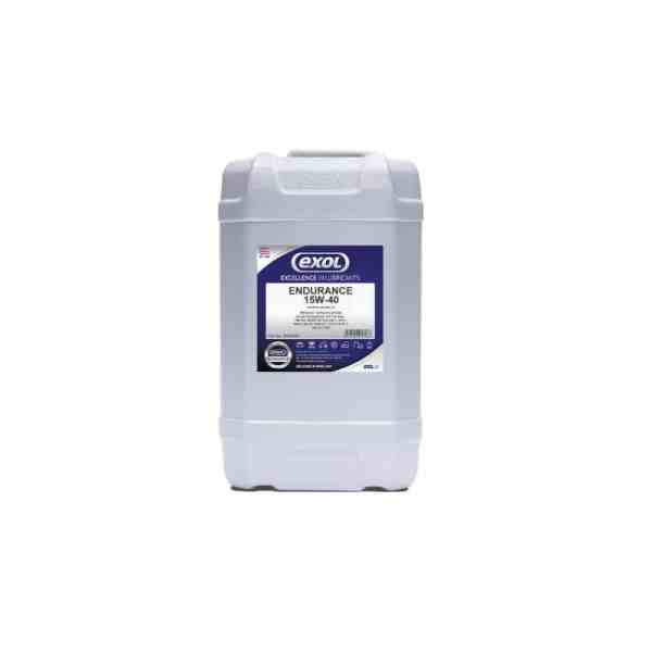 Catalogue image of EXOL ENDURANCE 15W40 Oil Grease Lubricant Mineral oil based engine oil