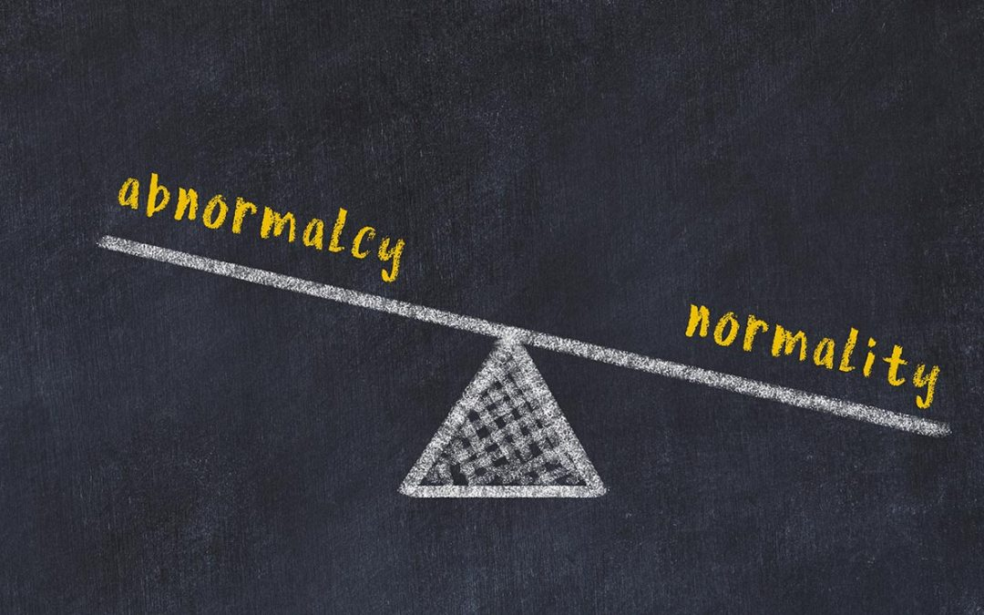 balance-between-abnormalcy-and-nomality-chalkboard-drawing