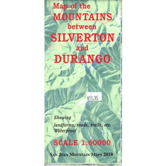 Mountains Between Durango and Silverton