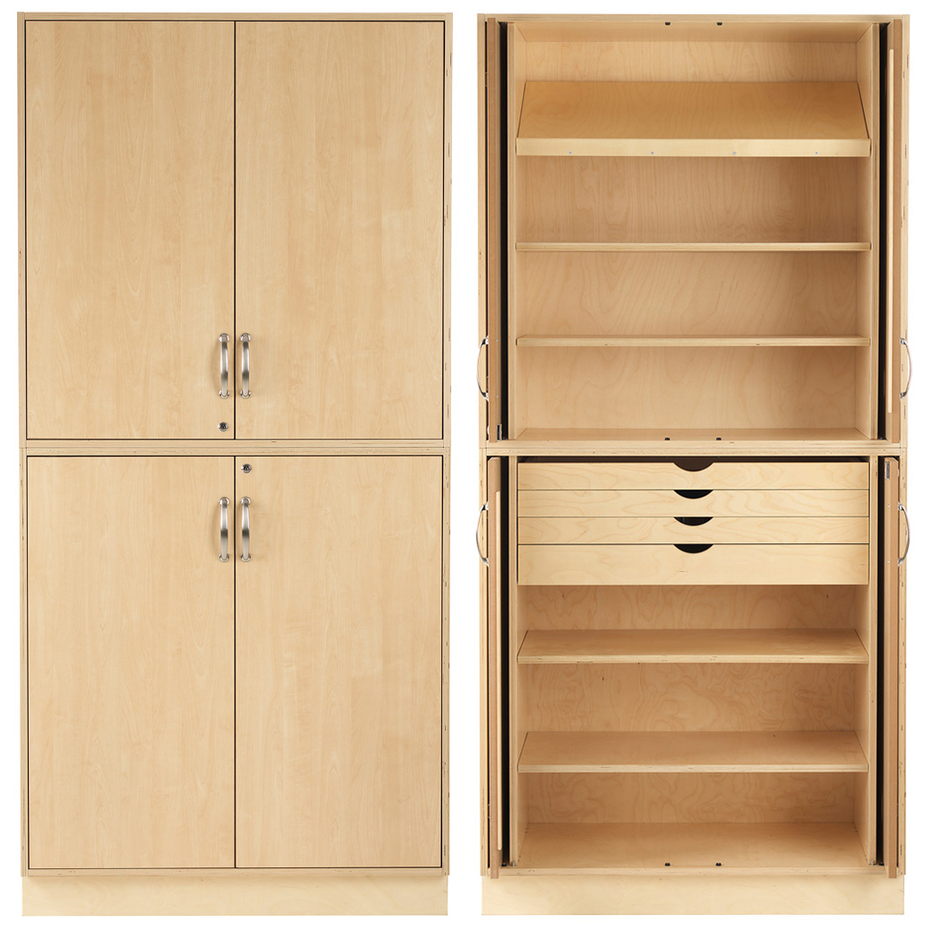 Sjöbergs Cabinet 1, birch doors, woodworking proposal