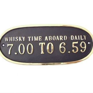 WHISKY TIME ABOARD...