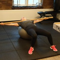 Supine Lateral Ball Roll