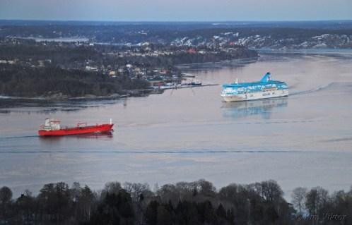 Key Marmara fortsatte mot Västerås.