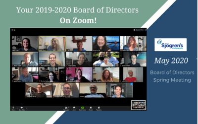 Sjogrens Foundation 2020 Board of Directors Spring Meeting