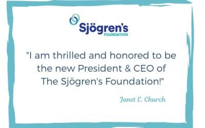 Janet Church appointed Sjogren's Foundation CEO
