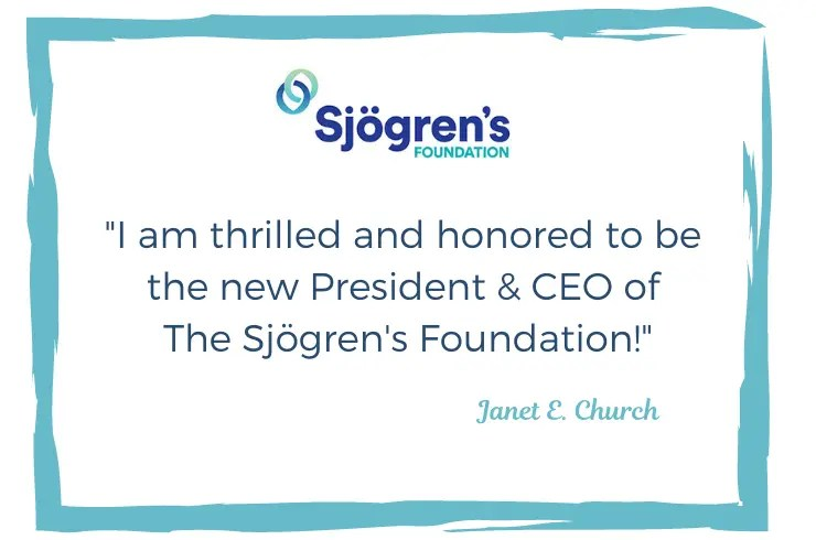 Sjogren's Foundation Appoints Janet Church as New CEO