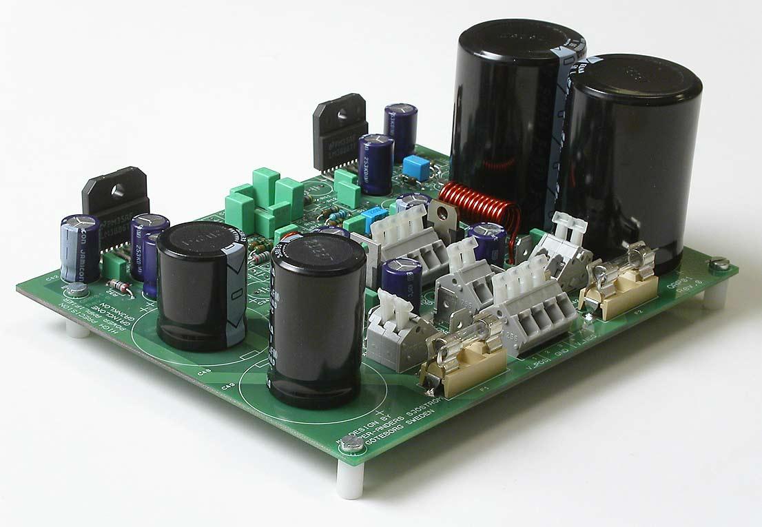 High Impedene Small Amplifer Circuit