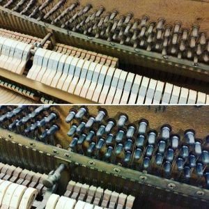 Tuning pin rust