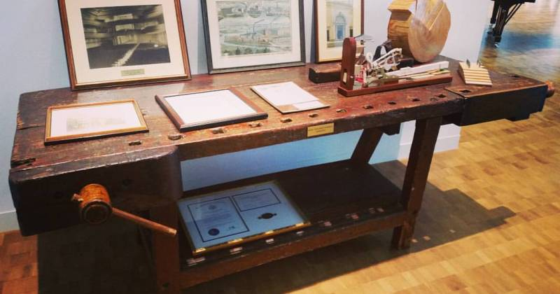 Henry Steinway's workdesk