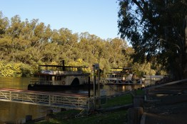Paddle steamers at the Port of Echuca