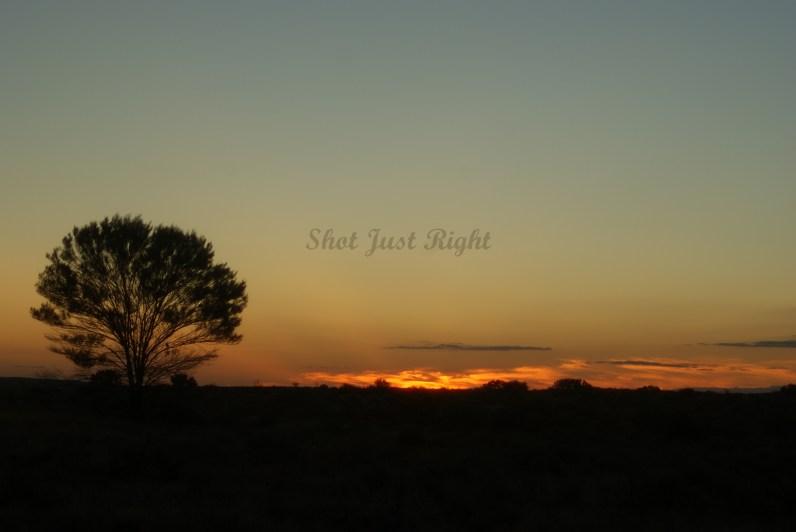 Sunset at Broken Hill