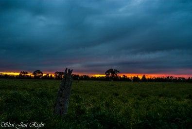 Sunset tonight 8th Sept. 2014