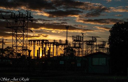 Sunset tonight 16/11/2014