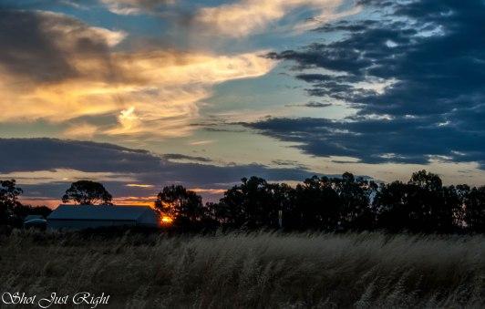 Sunset Tonight. 9th Dec 2014