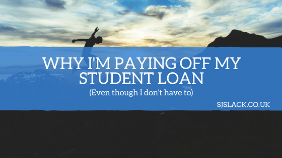 Why I'm paying my student loan