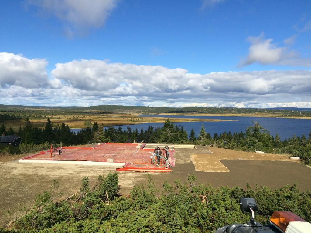 Storåsen AS utfører utgraving av tomter på Sjusjøen og Ringsakerfjellet