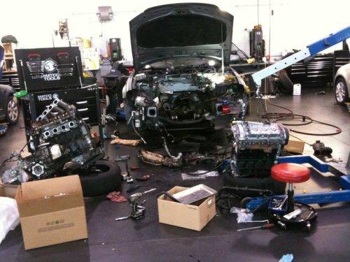 penukaran enjin kereta memerlukan prosedur tertentu