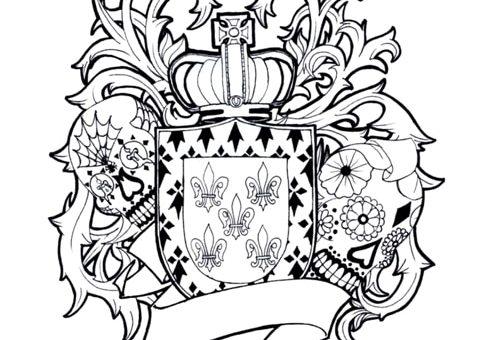 Дизайн фамильного герба