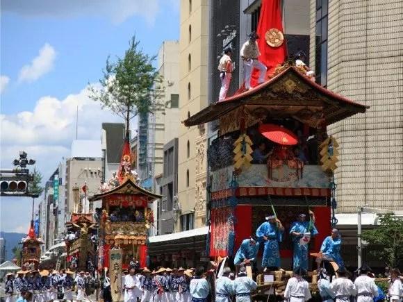 祇園祭2017の歩行者天国や宵山と巡行ルートは?