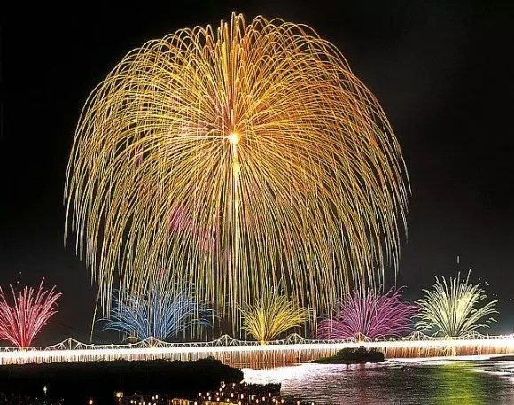 長岡花火大会2017穴場スポットと場所取りや駐車場は?