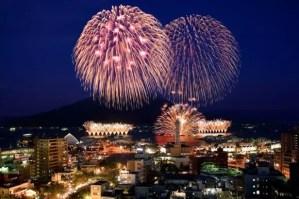 錦江湾サマーナイト花火大会2016穴場スポットと場所取り!