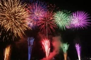 笛吹市石和温泉花火大会の穴場スポット2017と駐車場は?