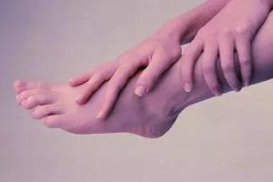Caressing Foot