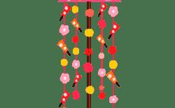 つるし雛(つるし飾り)の意味や由来と飾り方!