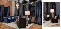 Downtown Rehabbed Penthouse & Interiors Home Staging