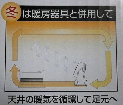 サーキュレーター 暖房
