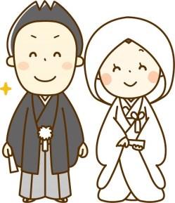寒中見舞い 結婚報告