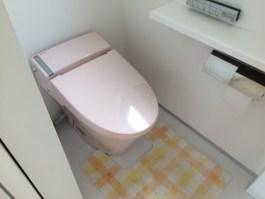 鏡餅 トイレ