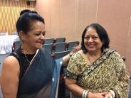 Manjulika Agarwal, an eloquent speaker on international affairs.