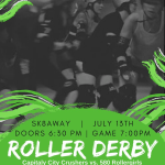 CCC vs 580 Roller Girls - 07/13/2019