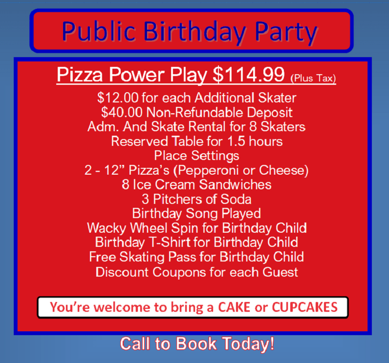 Sk8away - Public Pizza Power Play - BD Party