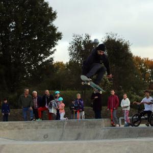 Inauguration du skatepark de Tergnier