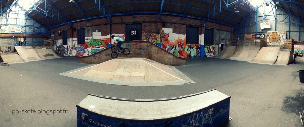 Skatepark Cambrai panoramique
