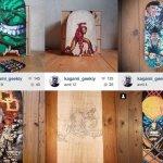 L'artiste Kagami Geekiy recherche de boards pour ses œuvres !