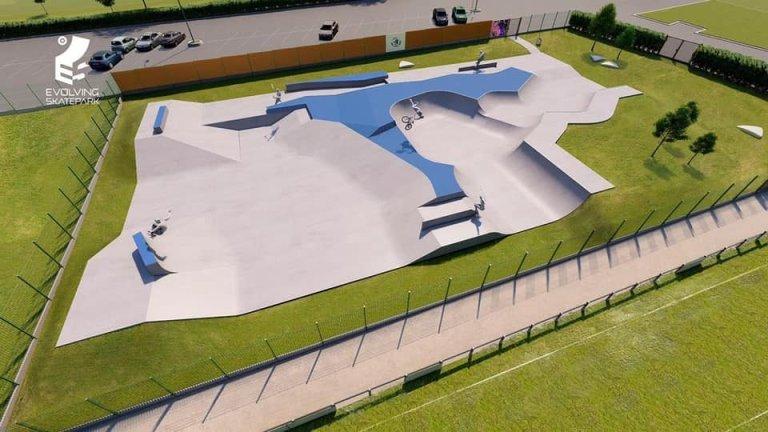 Maj. Construction du Skatepark de Laon Mai 2020