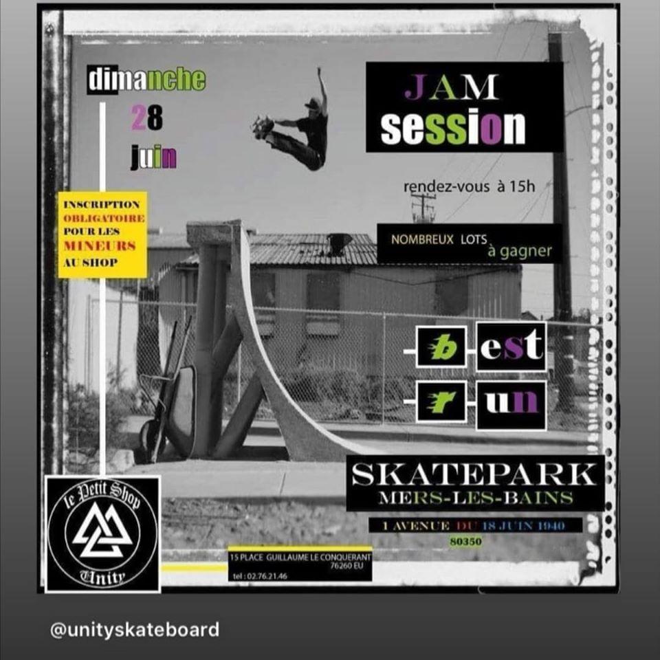 Jamsession skateparkMarslesBains juin2020