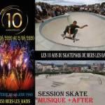 Les 10 ans du Skatepark de Mers Les Bains