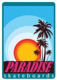 logo Paradise skateboard