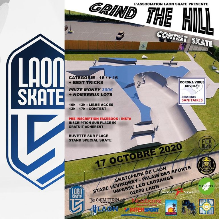 Read more about the article Résultats Contest Grind The Hill #1 oct 2020 au skatepark de Laon (02)