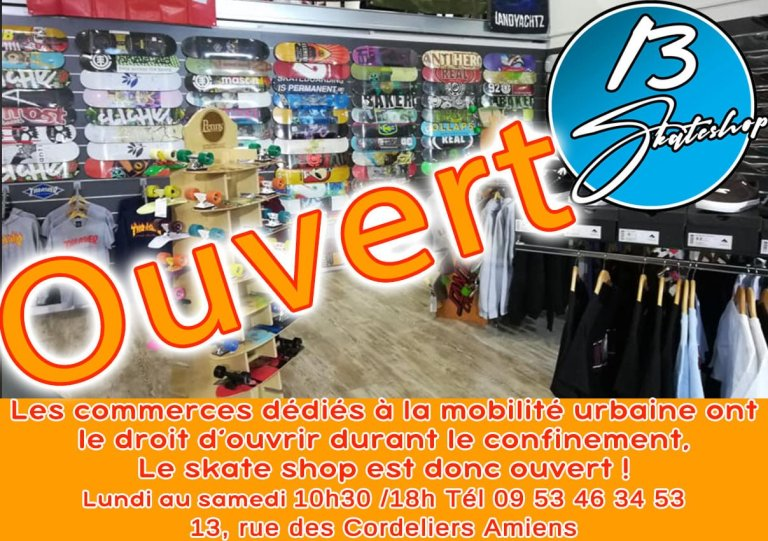 Read more about the article 13Skateshop Amiens