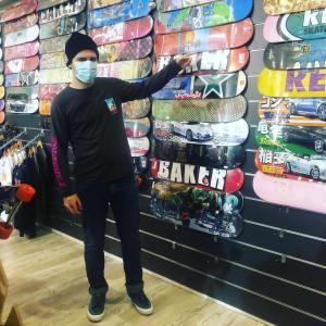 Read more about the article 13 Skateshop distribue Paradise Skateboard la marque locale des HDF