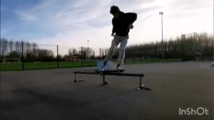 Session d'hiver au skatepark de Clairoix (60)