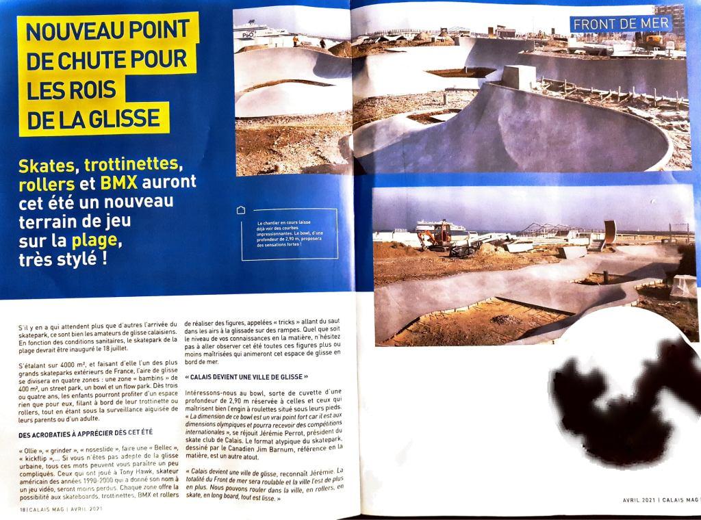 beachskateparkcalais presselocaleville avril2021